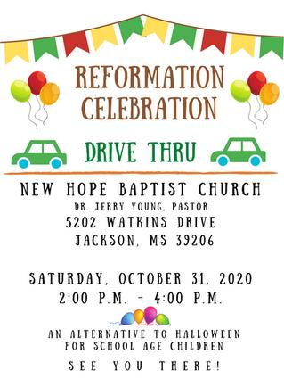Reformation Celebration Drive Thru