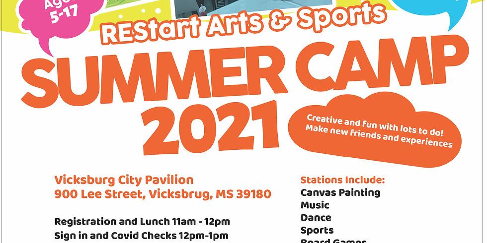 REStart Arts & Sports Summer Camp 2021 - Vicksburg
