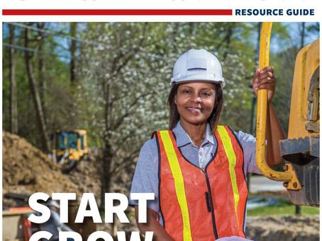 Innovative Performance Construction Company, LLC is featured on the cover of SBA Resource Guide 2020
