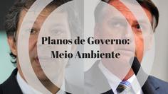 Análise dos programas de governo dos presidenciáveis Bolsonaro e Haddad: MEIO AMBIENTE