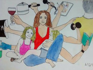 Mulheres do século 21 com comportamentos do século 20 e tarefas do século 19