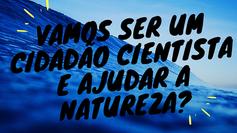 Poluição marinha, microplásticos e ciência cidadã