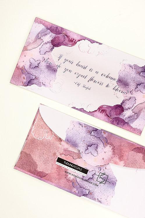 Under The Sea - Carnation Purple
