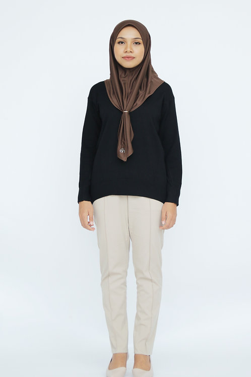 Khadījah Knit (Black)
