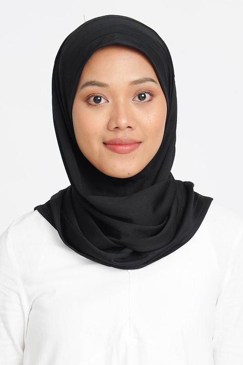 Active Performance Instant Scarf - Black