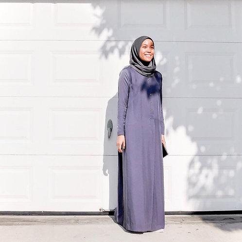 Basic Fatiha Dress (Blueberry)