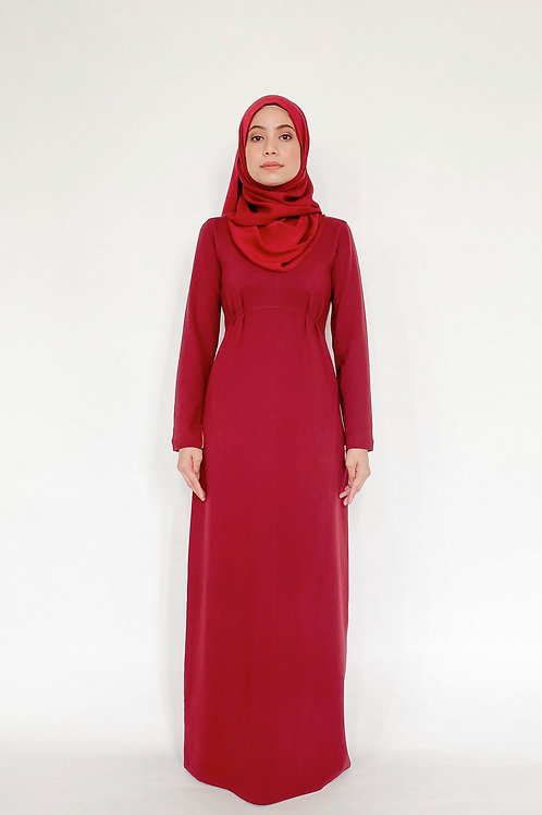 Courage Dress in Rosewood