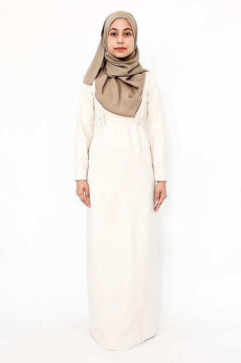 Courage Dress in Ivory