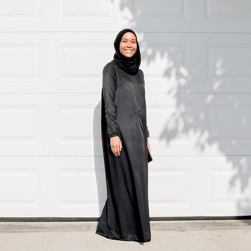 Basic Fatiha Dress (Black)