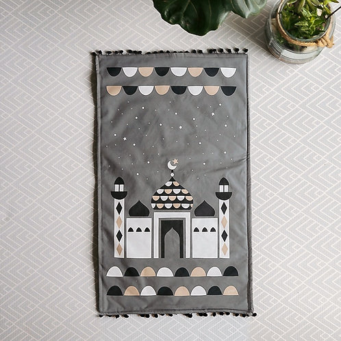 Poppetry Kids Prayer Mat (Grey)