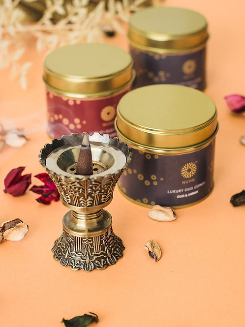 Luxury Oud Cones Burner