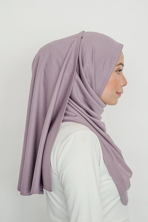 LILAC PERFORMANCE INSTANT SHAWL-ANTIBACTERIAL