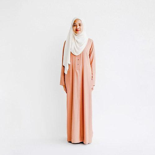 Basic Fatiha Dress (Burnt Rose)
