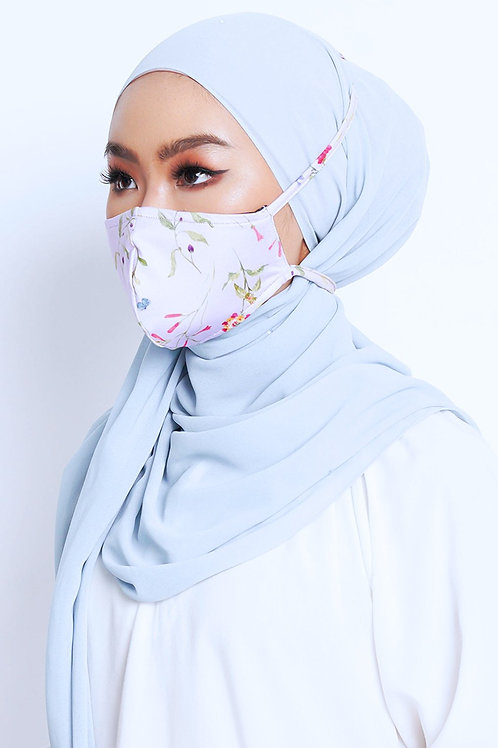Face Mask Stripe (Floral)