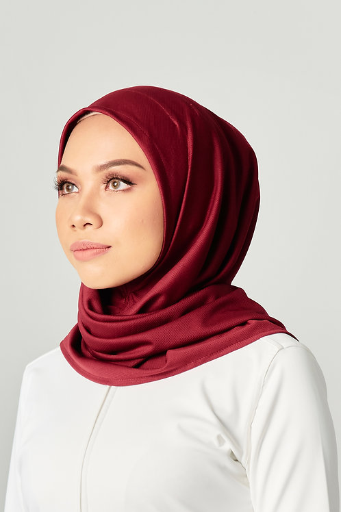 Active Performance Instant Scarf -Maroon