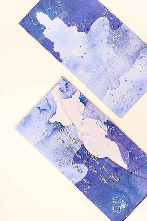 Under The Sea - Denim Blue