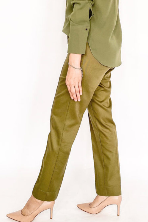Riang Tapered Pants (Olive)