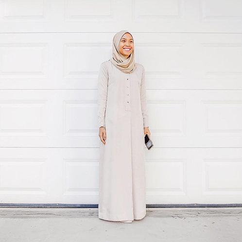 Basic Fatiha Dress (Light Clay)