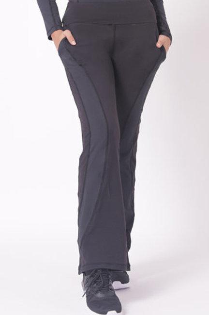 Performance Pencil Crop Pants (Black)