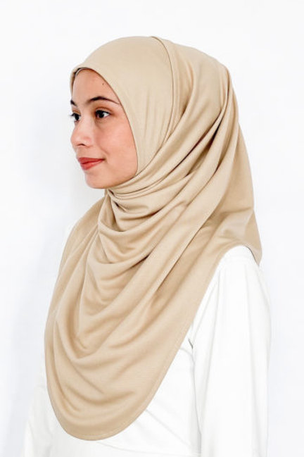 Active Performance Instant Shawl -Stone