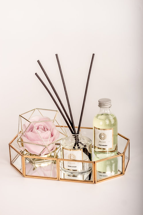 Peony & Oud Reed Diffuser (130ML)