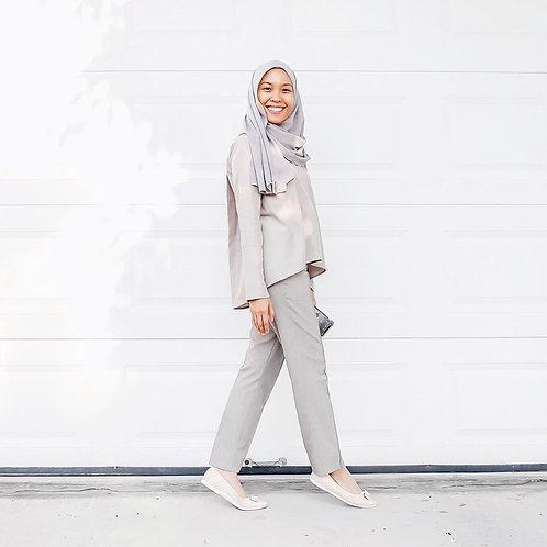 Aman Top (Wooden Grey)