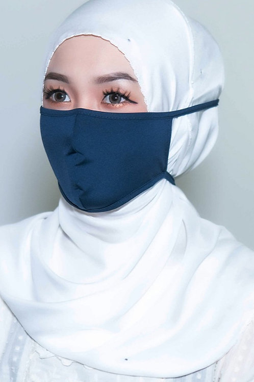 Face Mask Plain (Ocean Blue)