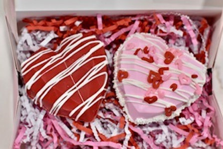 Heart Cocoa Bombs