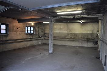 Garage nach de Räumung: besenrein abgegeben