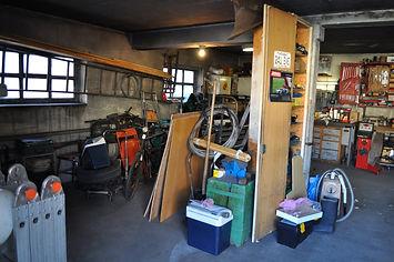 Garage vor der Räumung