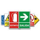 Señalizacion de seguridad | Señales extintores | Extintores