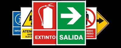 Señales | Extintores | Extinsafe