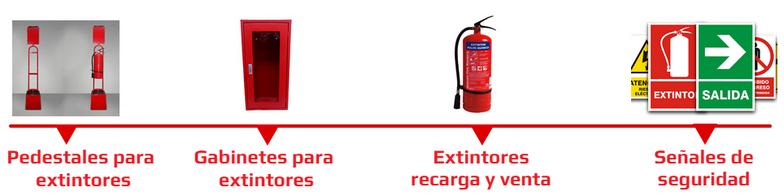 Extintores y accesorios | Extinsafe