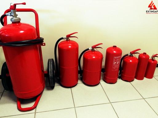 Que es y como se usa un Extintor de Polvo Químico Seco
