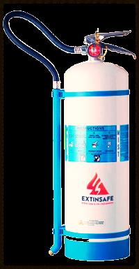 extintores de agua desmineralizada