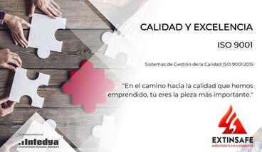 Calidad y Excelencia ISO 9001 Extinsafe