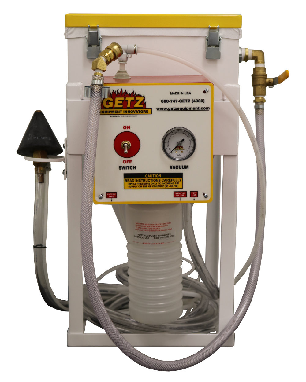 taller, extintores