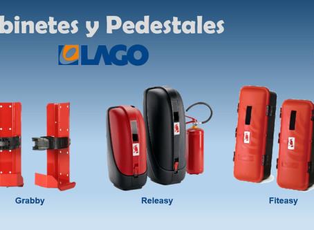 Nueva linea de porta extintores y gabinetes LAGO