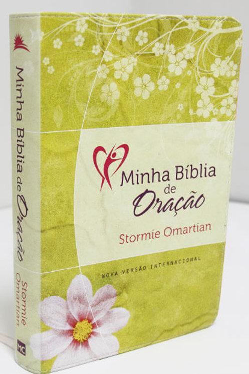 Minha Bíblia de Oração - NVI (Flores)