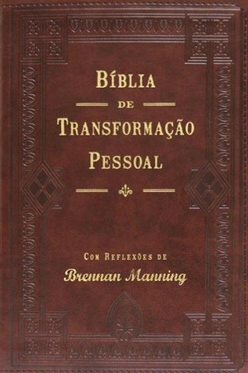 Bíblia de transformação pessoal (Luxo Marrom) - Brennan Manning