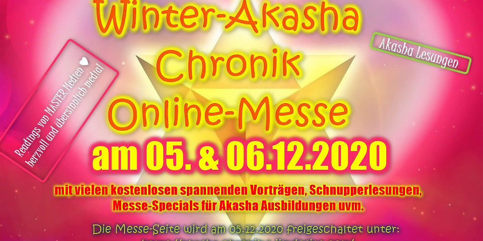 """Soul Dream"" Winter Akasha Chronik Online Messe 06.12.2020"