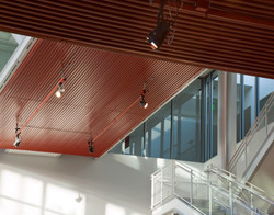 7046 Red ceiling stair detail do more