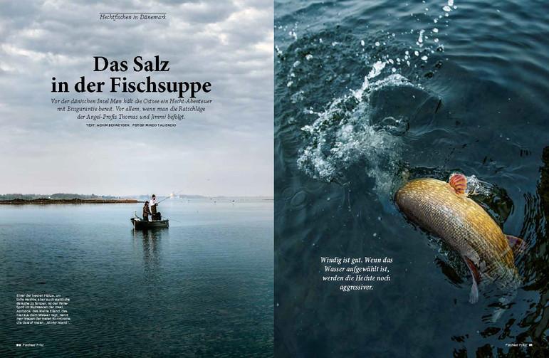 """""""Fritz"""" ein Magazin für Angler - Unterwegs in Dänemark"""