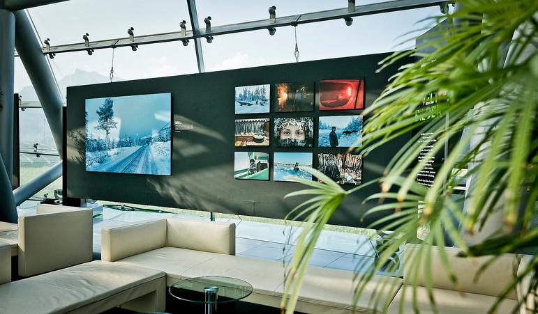 Mit dabei meine Bilder aus Sibirien. Terra Mater zeigt im Salzburger Hangar-7 beeindruckende Bilder