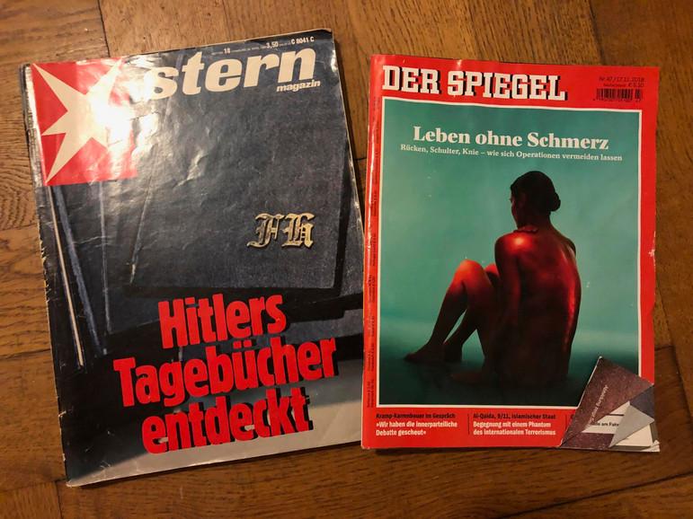 Der Spiegel Text, der den Betrugsfall offenlegte. Text von Ulrich Fichtner, erschienen am 19.12.2018