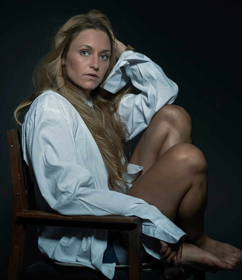 Schauspielerin Daria Trenkwalder - Studiosession