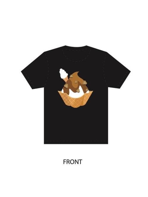 Black Shirt - Waffle