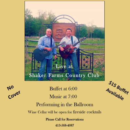 JOIN US FRIDAY MARCH 1ST for live music from Jeff and Sam acoustics! see flyer for more details.
