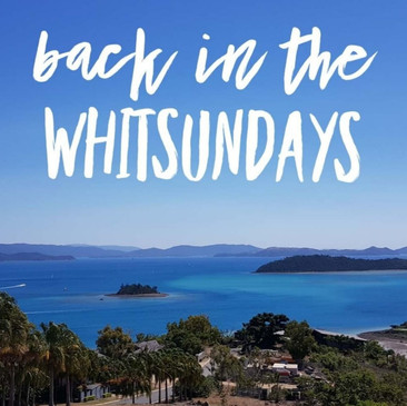back in the whitsundays