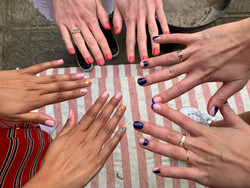 Lg nails manicure party pamper